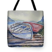 Waiting In The Cove Tote Bag