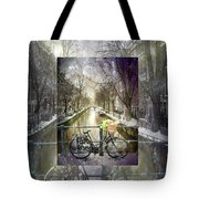 Waiting In The Snow Tote Bag