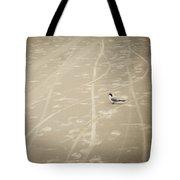 Waiting My Turn Tote Bag by Carolyn Marshall