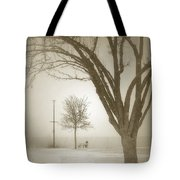 Waiting Out The Storm Tote Bag