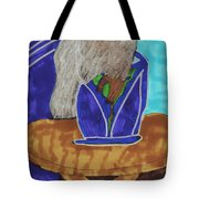 Waiting To Go Out Tote Bag