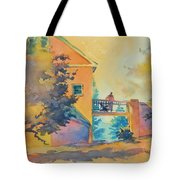 Waiting Until The Evening Comes Tote Bag