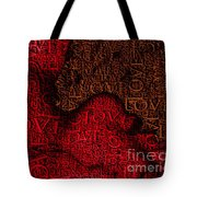 Waiting With Love Tote Bag