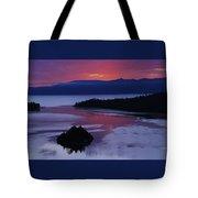 Wake Up In Lake Tahoe  Tote Bag