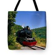 Wakefield Steam Train Tote Bag