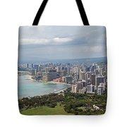 Wakiki Beach Hawaii Tote Bag