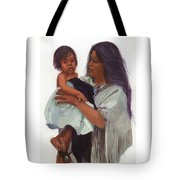 Wakin Up Sacajawea And Pomp Tote Bag