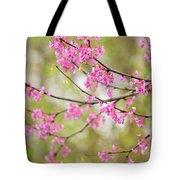 Waking Blooms Tote Bag