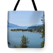 Waking Up In The Post Card Tote Bag