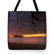 Sprite Island Sunrise Tote Bag