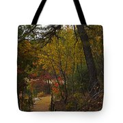 Walden Pond Path Into The Forest 2 Tote Bag