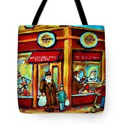 Waldmans In Montreal Tote Bag