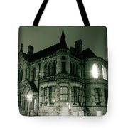 Waldorf College, The Centre For Science And Arts By Night Stround Gloucestershire Tote Bag