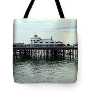 Wales Boardwalk Tote Bag