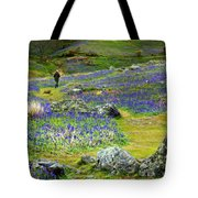 Walk Among The Bluebells Tote Bag