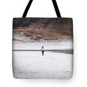 Walk At The Beach  Tote Bag