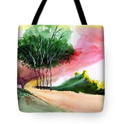 Walk Away Tote Bag