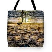Walk By The Sea Tote Bag