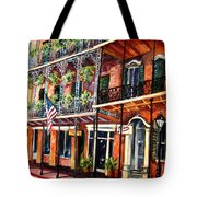 Walk In The French Quarter Tote Bag