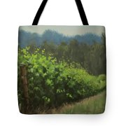 Walk In The Vineyard Tote Bag