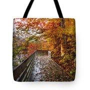 Walk Into Autumn Tote Bag