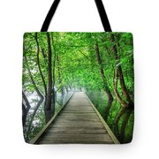 Walk Into The Mist Tote Bag