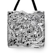 Walk Off Tote Bag