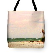 Walk The Beach Tote Bag