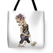 Walk The Dog Tote Bag