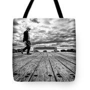 Walk This Way Tote Bag