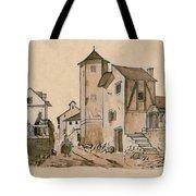 Walk Through Town Classic Tote Bag