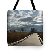 Walk Thru The Marsh Tote Bag