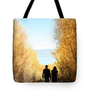 Walk To Mono Lake Tote Bag