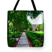 Walk To The Dorm Tote Bag