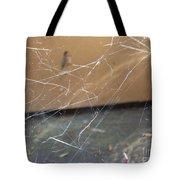 Walkin In A Spider Web Tote Bag
