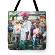 Walkin' Man Tote Bag