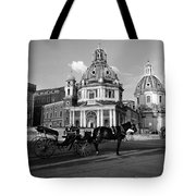 Walking Around The City Of Rome  Tote Bag