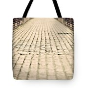 Walking Away Tote Bag by Meirion Matthias