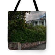 Walking City Tote Bag