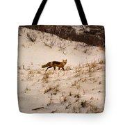 Walking Fox Tote Bag
