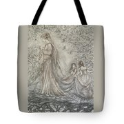 Walking In The Magic Garden Tote Bag