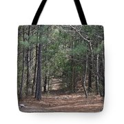 Walking In The Pine Forest Tote Bag