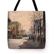 Walking In The Shadows - Fond Du Lac Tote Bag