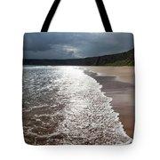 Walking On The Beach Tote Bag