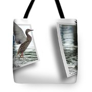 Walking On Water - Gently Cross Your Eyes And Focus On The Middle Image Tote Bag