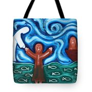 Walking On Water 2 Tote Bag by Patrick J Murphy