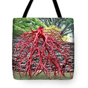 Walking Roots Sculpture 2 Tote Bag