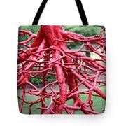 Walking Roots Sculpture Tote Bag