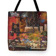 Walking Sketches Tote Bag by Martha Ressler