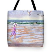 Walking The Cape Tote Bag
